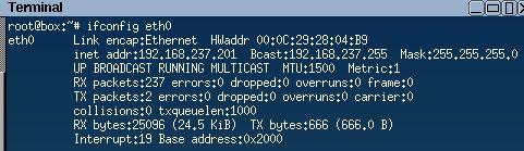 Client IP prior to reboot