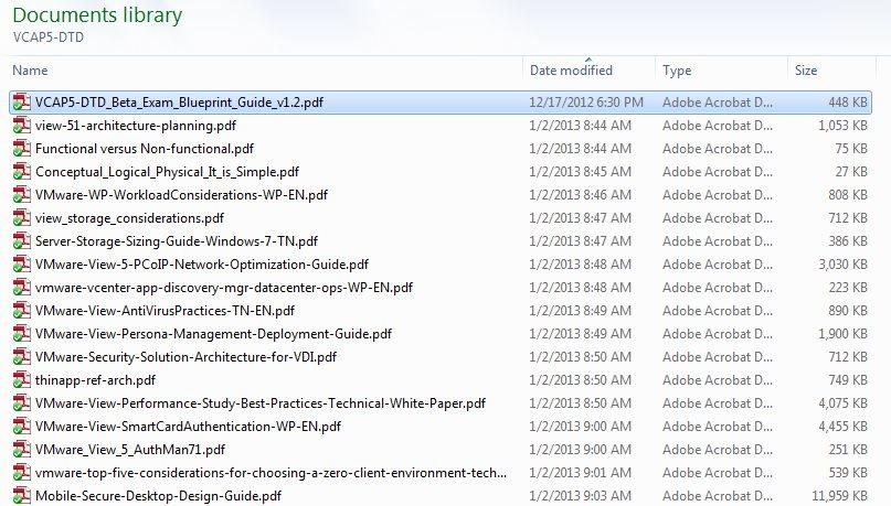 VCAP5-DTD Folder
