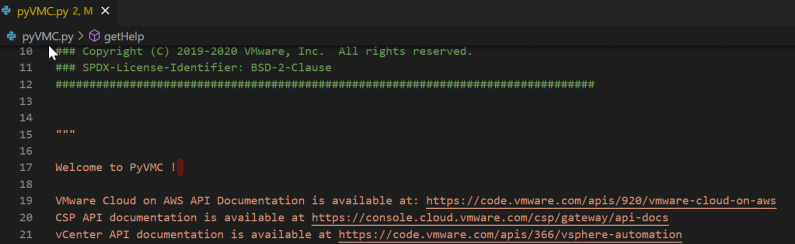 Python Client for VMC on AWS – Part II – More User Management