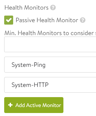 NSX Advanced Load Balancer – Part III – Active HTTP Monitor